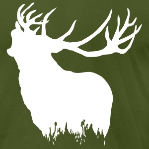 Deer T-Shirts - Men's T-Shirt by American Apparel