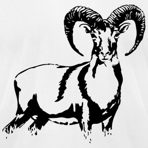 Mouflon  T-Shirts - Men's T-Shirt by American Apparel