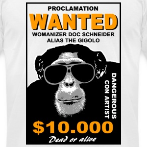 chimpanzee  T-Shirts - Men's T-Shirt by American Apparel