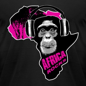 chimpanzee - Africa rocks T-Shirts - Men's T-Shirt by American Apparel