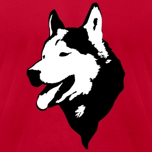 Husky T-Shirts - Men's T-Shirt by American Apparel