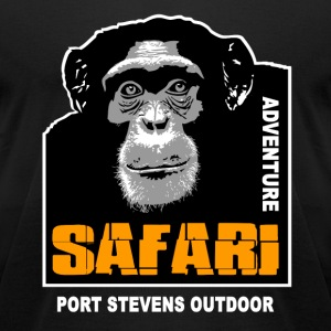 chimpanzee - Safariv T-Shirts - Men's T-Shirt by American Apparel