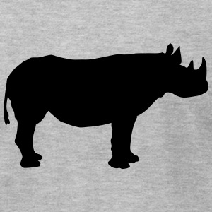 Rhino T-Shirts - Men's T-Shirt by American Apparel