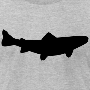 brown trout - brook trout - trout  T-Shirts - Men's T-Shirt by American Apparel