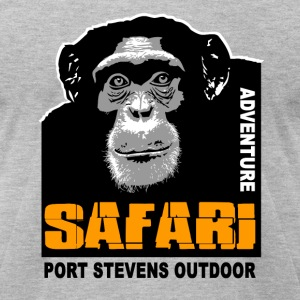 chimpanzee - Safari T-Shirts - Men's T-Shirt by American Apparel