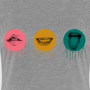 Mouth feelings - Women's Premium T-Shirt