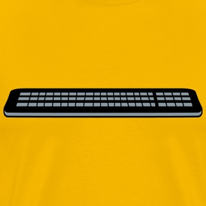 Press control keyboard pc computer keys write T-Shirts - Men's Premium T-Shirt