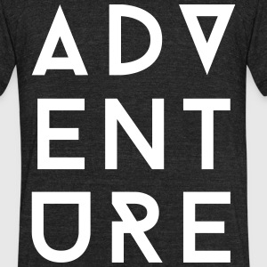 Adventure II T-Shirts - Unisex Tri-Blend T-Shirt by American Apparel