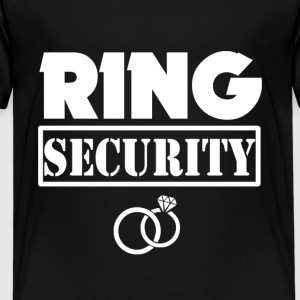 Ring Security Funny Boys Ring Bearer Shirt - Kids' Premium T-Shirt