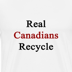 real_canadians_recycle T-Shirts - Men's Premium T-Shirt