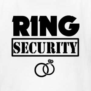 Ring Security Funny Boys Ring Bearer Shirt - Kids' T-Shirt