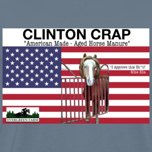 Clinton Crap 2016 T-Shirts - Men's Premium T-Shirt