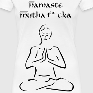 Ladies Namaste tank - Women's Premium T-Shirt