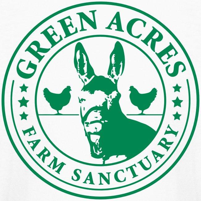 Kids Long Sleeve T-Shirt - Green Festus Logo