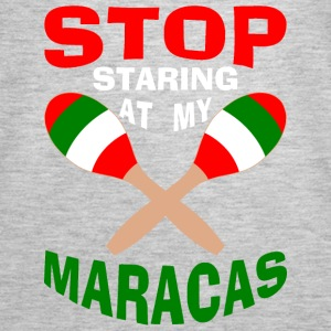 Stop Staring at my Maracas Tanks - Women's Premium Tank Top