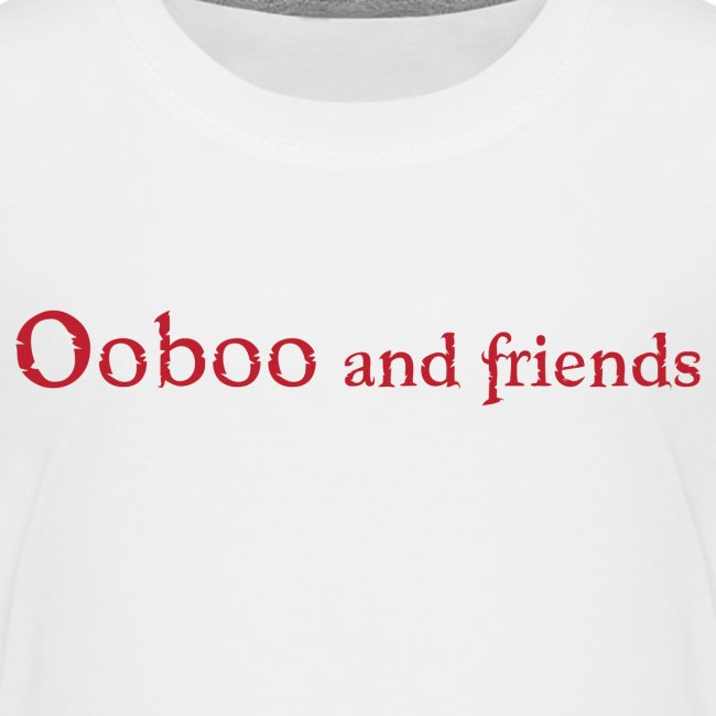 Ooboo and Friends - Logo Red