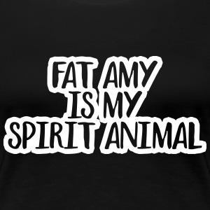 Fat Amy Is My Spirit Animal Women's T-Shirts - Women's Premium T-Shirt