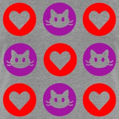 Cats and Hearts Women's T-Shirt