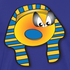 King Tut Egyptian Donut - Legendary Blue Tee