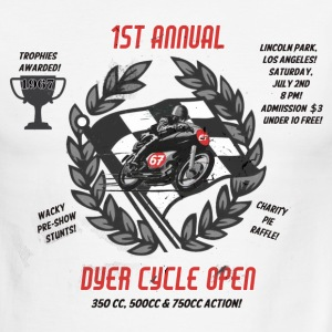 Dyer Cycle Open - Men's Ringer T-Shirt