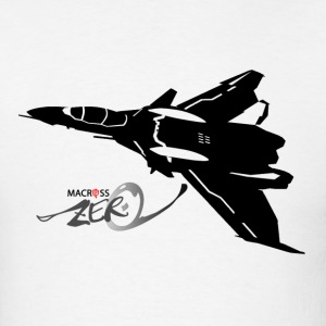 Macross VF-0D black T-Shirts - Men's T-Shirt