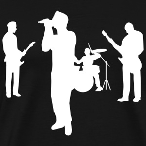 band T-Shirts - Men's Premium T-Shirt