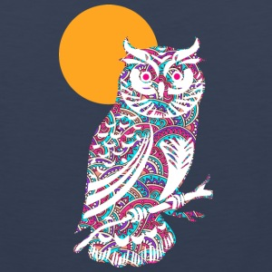 Colorful owl and moon Sportswear - Men's Premium Tank