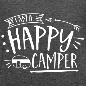Happy Camper - Women's Flowy Tank Top by Bella