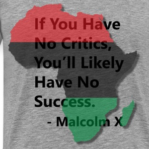 LocStar Revolution Malcolm X Success - Men's Premium T-Shirt