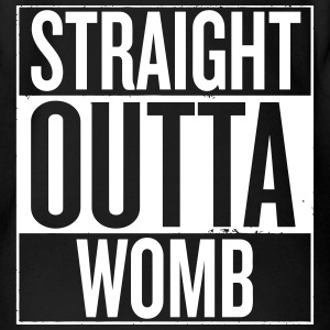 Straight Outta Womb - Baby Short Sleeve One Piece