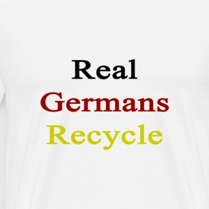 real_germans_recycle T-Shirts - Men's Premium T-Shirt