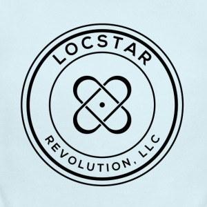 LocStar Revolution OFFICIAL Logo! - Short Sleeve Baby Bodysuit