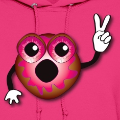 Pink Jelly Donut Hoodie -