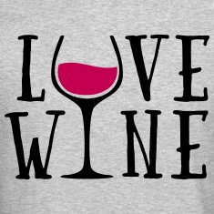 Love Wine Quote Long Sleeve Shirts