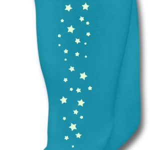 Bright Glowin Stars for Women Leggins - Leggings by American Apparel
