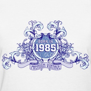 042016_born_in_the_year_1985b Women's T-Shirts - Women's T-Shirt