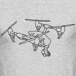 Drone (UAS) Long Sleeve Shirts - Men's Long Sleeve T-Shirt by Next Level