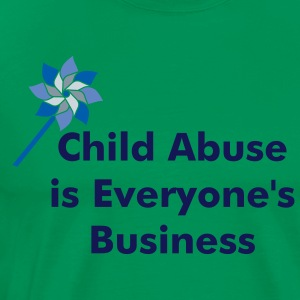Child Abuse Prevention-Men's  - Men's Premium T-Shirt