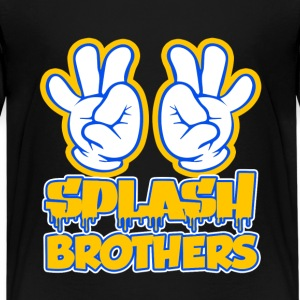 Splash Brothers funny shirt curry - Kids' Premium T-Shirt