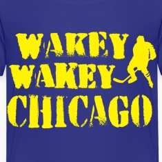 Wakey Wakey Chicago Baby & Toddler Shirts