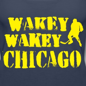 Wakey Wakey Chicago Tanks - Women's Premium Tank Top