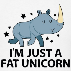 I'm Just A Fat Unicorn - Men's T-Shirt
