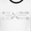Second Best Logo Design - Men's Ringer T-Shirt
