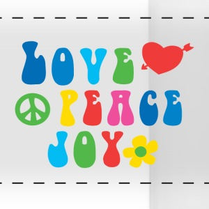 Love Peace Joy Panoramic Mug - Panoramic Mug