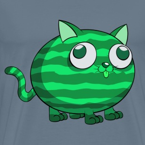 Watermelon Cat T-Shirts - Men's Premium T-Shirt