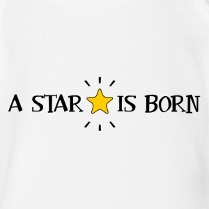 A Star Is Born Baby Bodysuits - Short Sleeve Baby Bodysuit