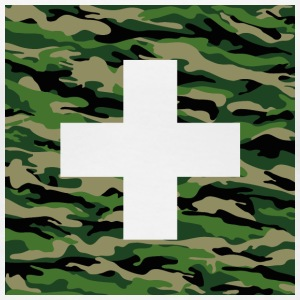 Military Swiss Cross - Women's Premium T-Shirt