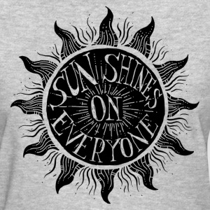 sun shines on everyone manji.png Women's T-Shirts - Women's T-Shirt