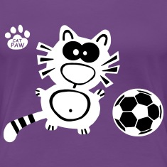 Catpaw Design Shirt Cat Cute Comic Cool Soccer