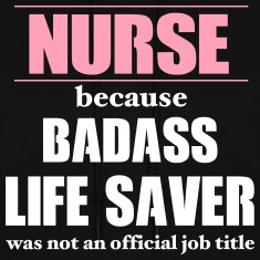 Nurse Badass LifeSaver Hoodies